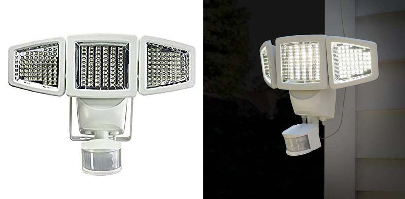 Sunforce LED Solar Motion Flood Light