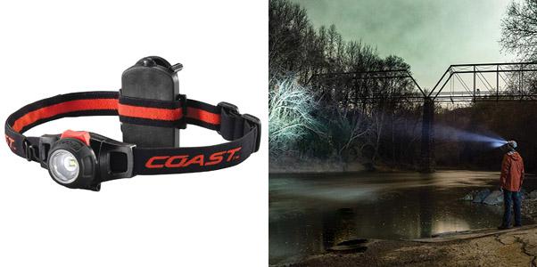 6. Coast HL7 Focusing LED Headlamp