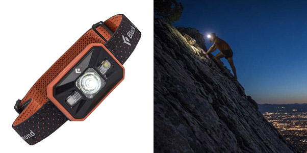 8. Black Diamond Storm 350 Lumen LED Headlamp