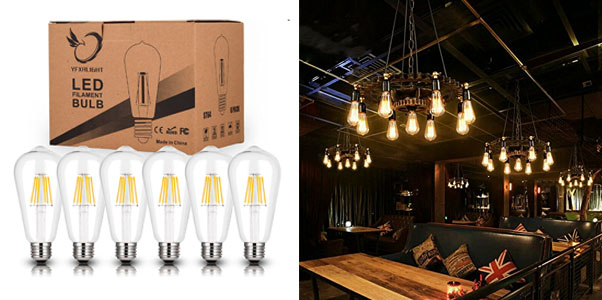 Antique LED Candelabra Light Bulbs