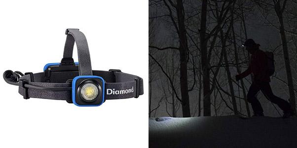 10. BLACK DIAMOND Sprinter Rechargeable LED Headlamp