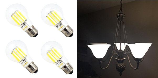Bonlux 10W A19 LED Filament Bulb