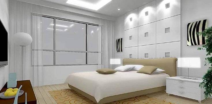 Cool White LED Lighting Example