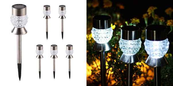 GIGALUMI Solar Lights Outdoor Garden Led Lights
