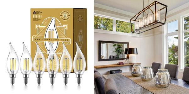 Gordon & Bond Edison Filament Flame Tip Vintage Lights