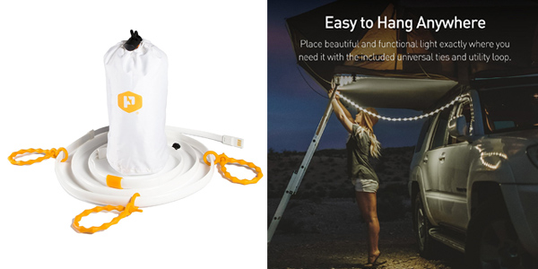 Luminoodle Camping LED Rope Light Review