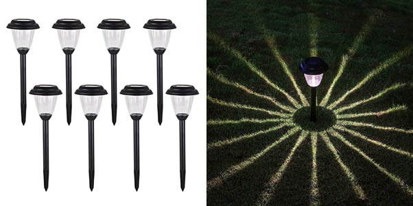 Voona Solar Outdoor Pathway Lights
