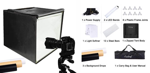 10. Finnhomy Professional Photography Light Box