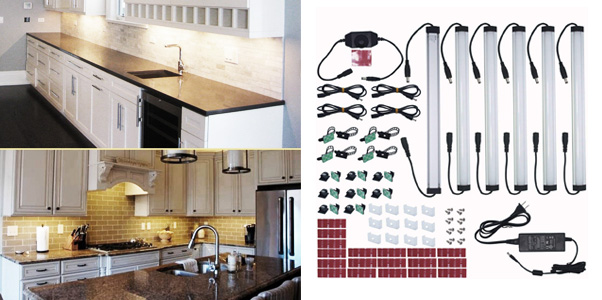 4. Litever Under Cabinet LED Lighting Kit