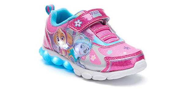 5. Nickelodeon Toddler Girl's Paw Patrol Light Up Shoes