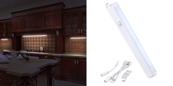 7. LED Concepts Under Cabinet & Closet Linkable LED T5 Light Bar