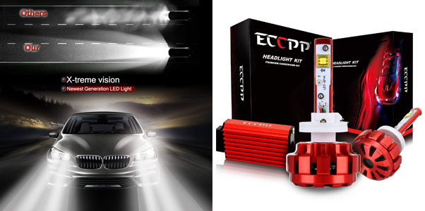 ECCPP LED Headlight Conversion Kit Review