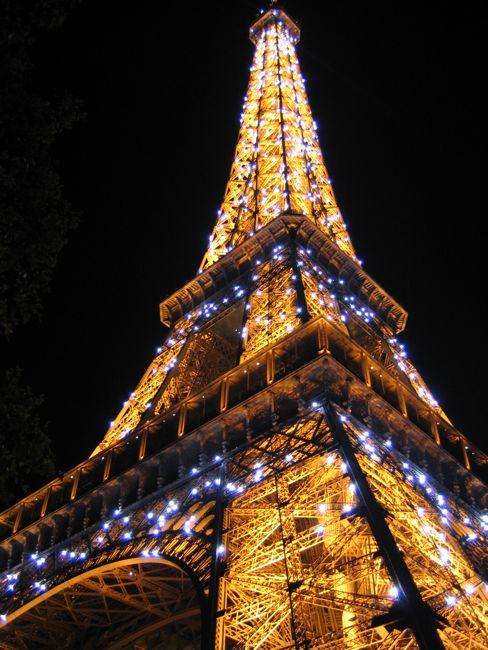 Eiffel Tower Sparkler Bulbs