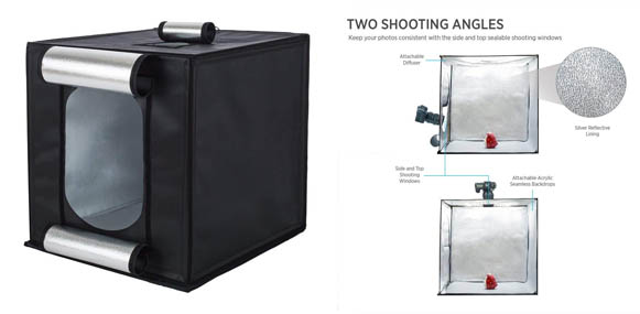 Fovitec LED Photography Light Box Kit