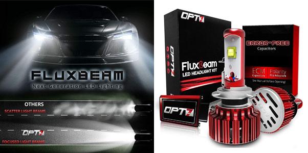 OPT7 FluxBeam H7 LED Headlight Kit