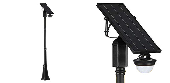 10. AMSU CREE LED Innovative Broad Beamed Solar Street Light