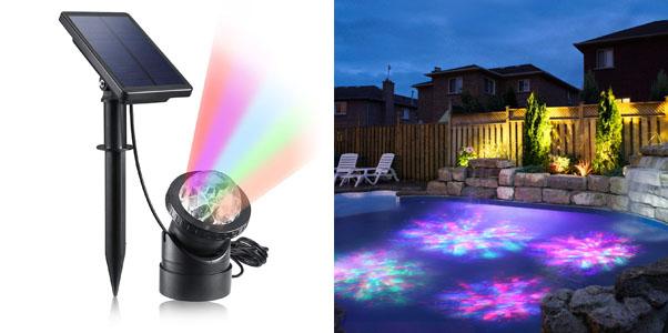 4. Creative Design Multicolored Solar LED Lights
