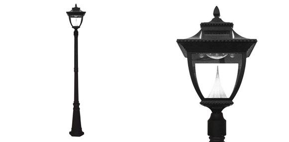 Gama Sonic Paa Solar Outdoor Lamp Post