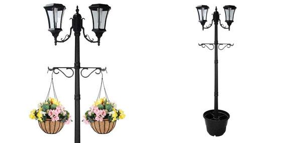 Best Solar Lamp Posts Ed Outdoor Light Led
