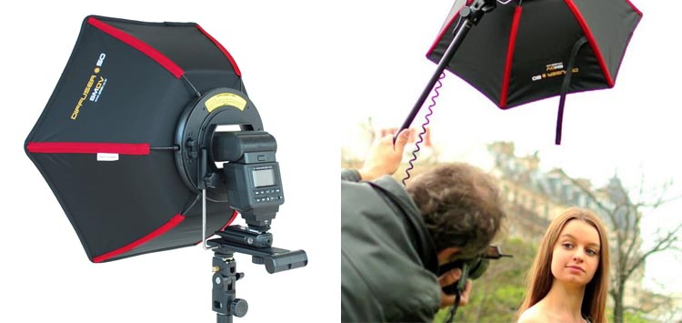 5. SMDV Professional S50 Softbox for Speedlight Hexagon Diffuser Review