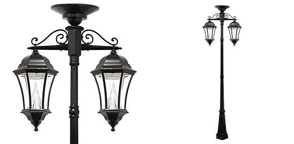 Best Solar Lamp Posts [Powered Outdoor Light Posts] | LED Light Guides