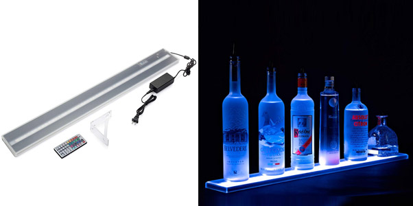 Armana Productions LED Liquor Bottle Shelf