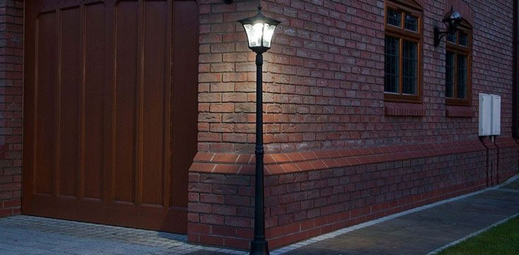 Residential Solar Light Post: Best Solar Lamp Posts [Powered Outdoor Light Posts]