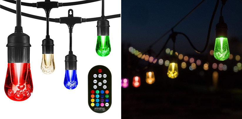 Enbrighten LED Warm White & Color Changing Outdoor Lights