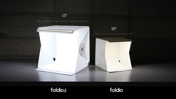 Foldio Size Comparison