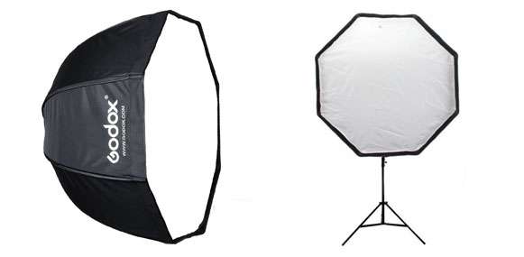 Godox Umbrella Octagon Speedlight Softbox Reflector Review