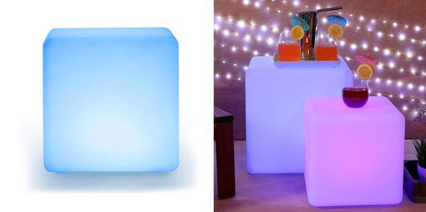 LOFTEK LED Cube Lights Color Changing Chair