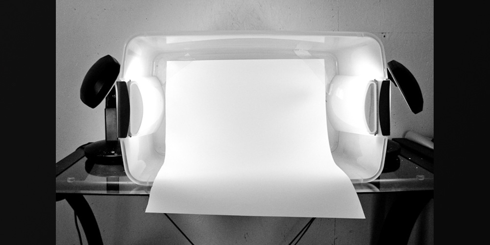 Product photography light box ideas