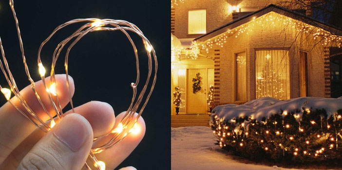 TaoTronics 33ft Starry LED String Fairy Lights