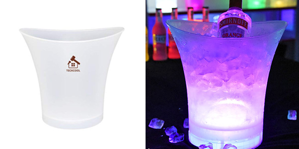 TeckCool 5 Litre Large LED Ice Bucket