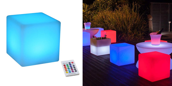 Yesie Color Changing Cube Chairs