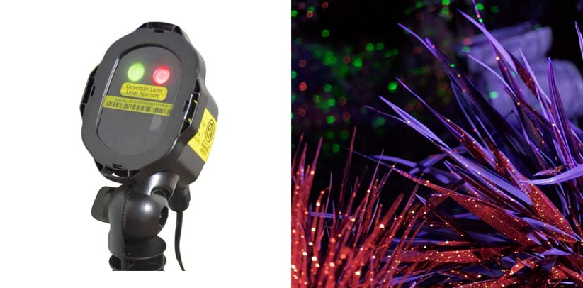 BlissLights Mini Duo Laser Projector for Home, Holiday, Event Decoration