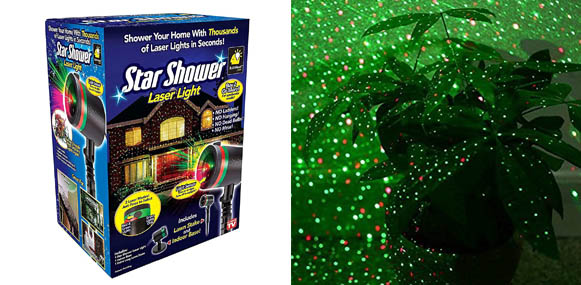 Bulbhead Star Shower Chrismas Laser Projector