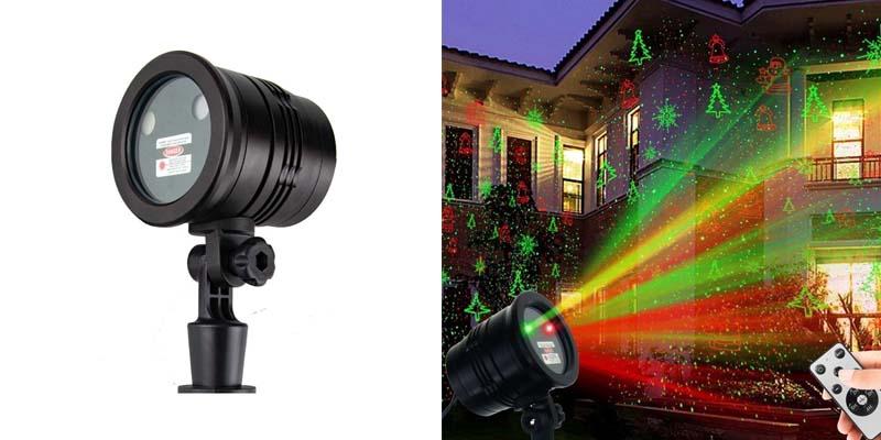 Christmas Laser Lights, YINUO LIGHT Waterproof Projector