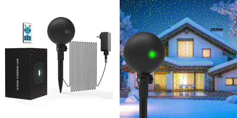 Christmas Lights Projector Laser Light Xmas Spotlight Projectors
