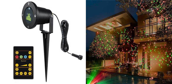 Tepoinn RGB Christmas Laser Lights