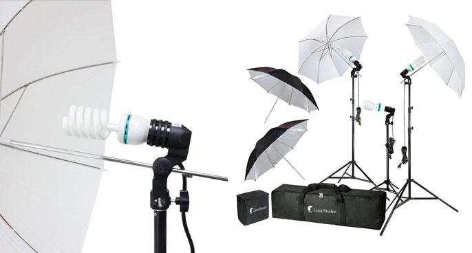 1. LimoStudio Daylight Continuous Umbrella Lighting Kit