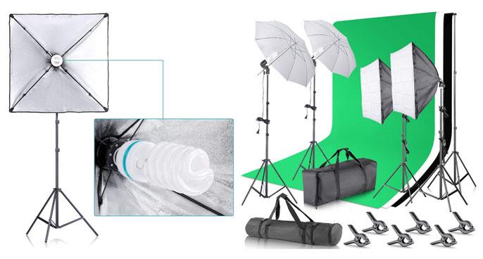 2. Neewer Continuous Umbrella Lighting Kit
