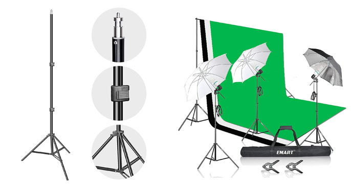 5. Emart Umbrella Lighting Kit Review