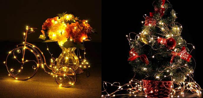 MineTom Starry String Christmas LED Lights