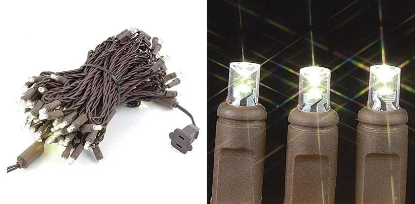 Novelty Lights 100 Light LED Christmas Mini Light Set