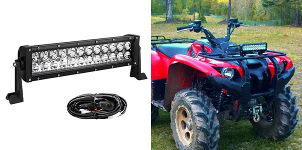 10. Yitamotor 72-Watt Combo Light Bar