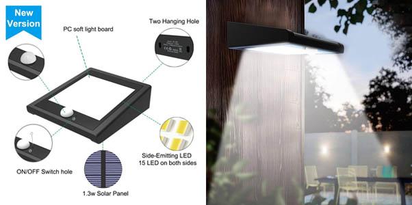 2. Avaspot 2-Pack 30 LED Security Flood Light