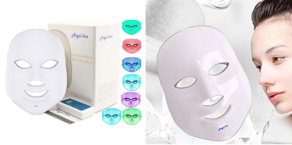 3. Angel Kiss LED Rejuvenation Facial Mask
