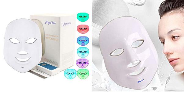 3. Angel Kiss LED Rejuvenation Facial Mask