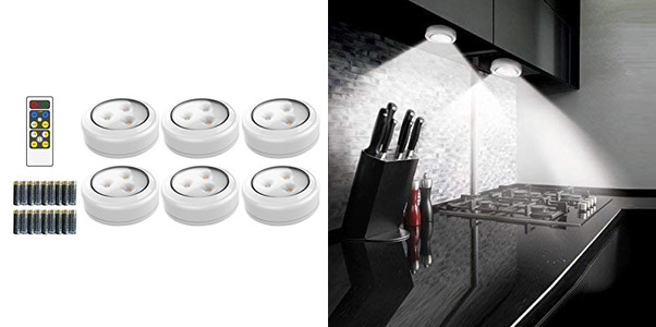 3. Brilliant Evolution Wireless LED Puck Light